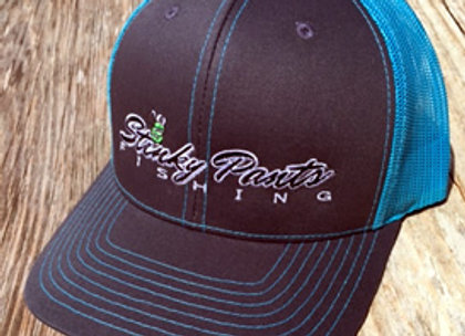 NeonBlue/Grey Name Hat