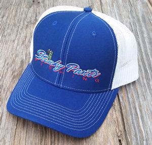 Blue/White Name Hat