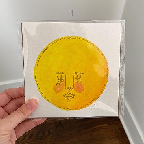 6x6 Sun Faces