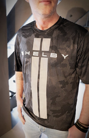 Shelby Camo Carbon Fiber Performance Tee