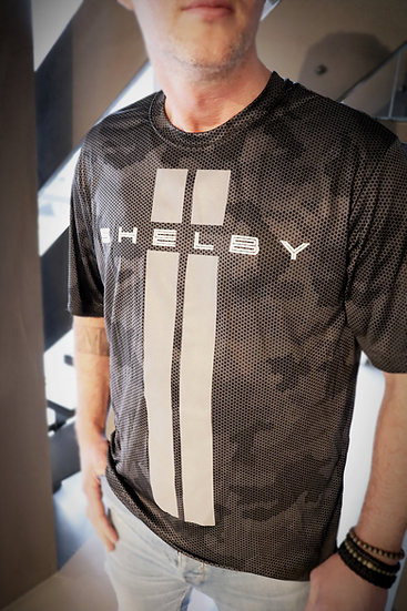 Shelby Camo Carbon Fiber Performance Tee