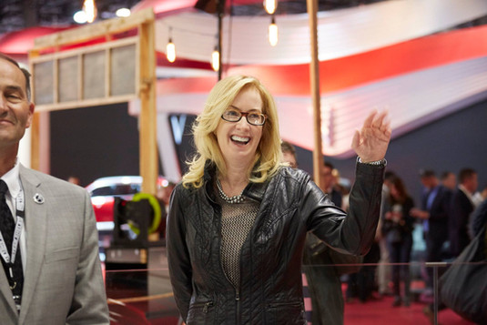Tracy Smith joining Shelby Europe at the Paris Motor Show 2018