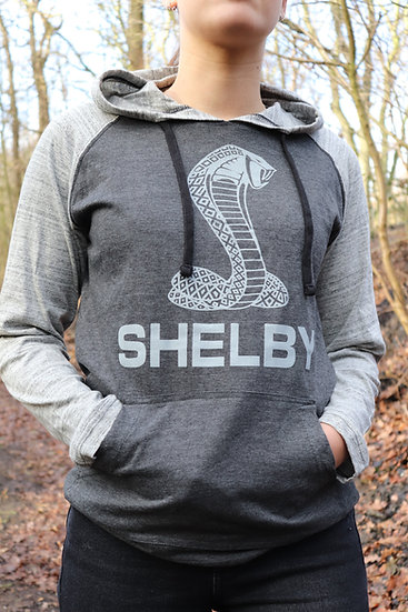 Shelby Raglan Long Sleeve Hooded T-Shirt