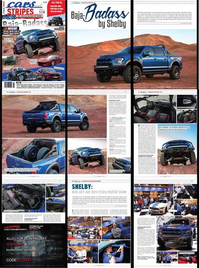 Shelby Baja Raptor Magazine Feature