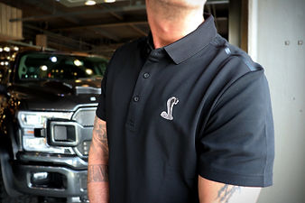 Shelby mens black polo shirt 3 jan 2020.