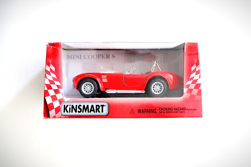 1:32 1965 Red Shelby Cobra Diecast