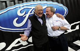 Carroll Shelby and Edsel Ford II at 2011