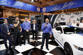 Shelby American Inc. with Shelby Europe at Essen Motor Show 2017