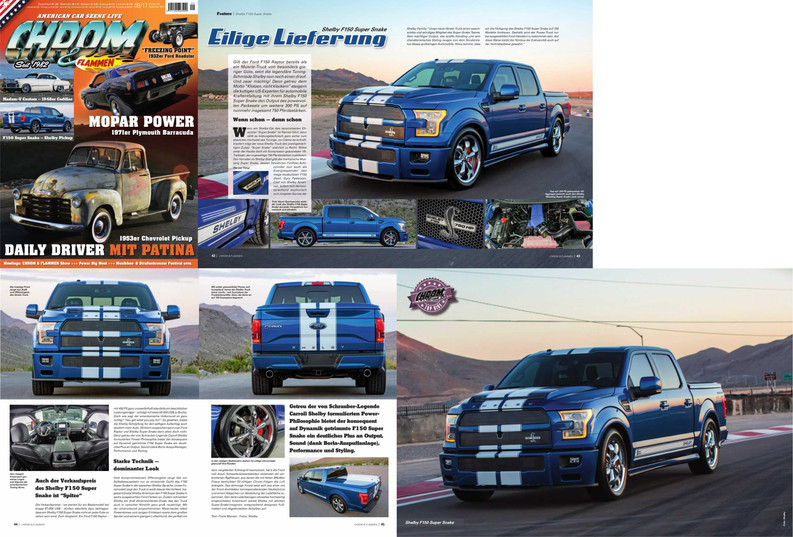 Shelby Super Snake Truck Feature