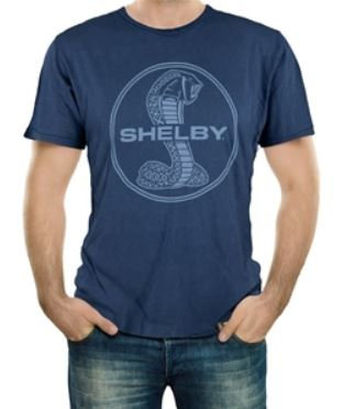 Shelby Mineral Wash Navy T-Shirt