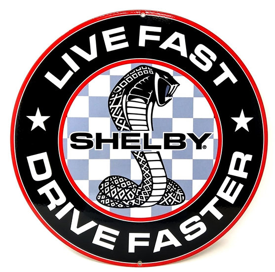 Shelby Live Fast Light Box