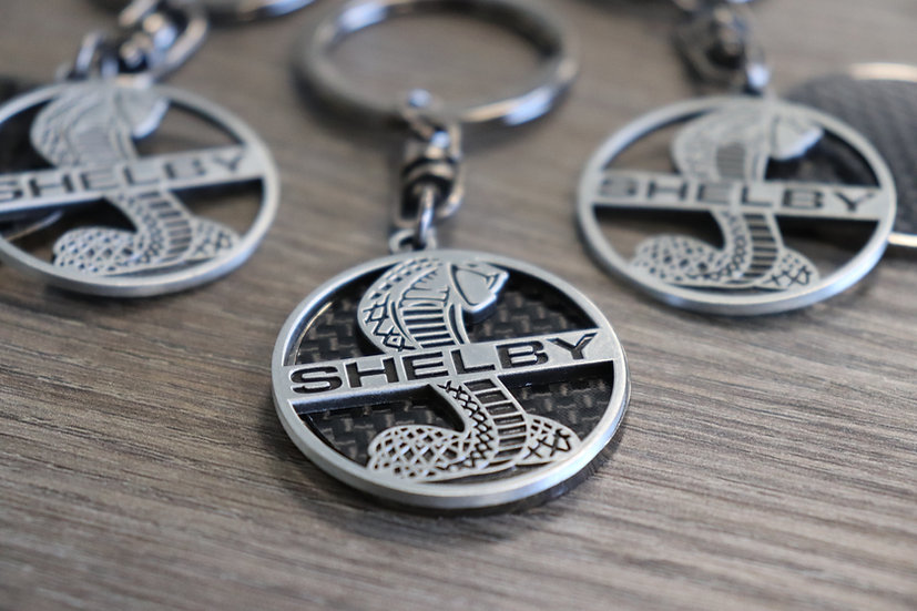Shelby Carbon Key chain