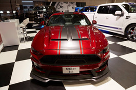 2019 Shelby Super Snake Mustang on display at the 2018 Paris Motor Show