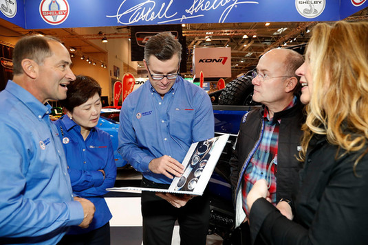 Shelby American Inc. with Shelby Europe at the 2017 Essen Motor Show