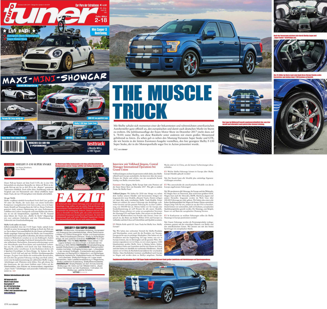 Shelby Super Snake Truck Article