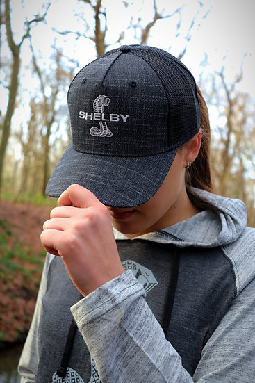 Shelby Graphite Linen Hat