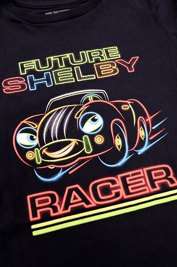 Shelby Boys Glow In the Dark Racer Tee