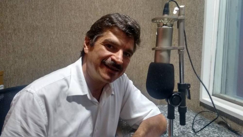 Dr. José Marcelo Morelli no estúdio CBN em Campinas