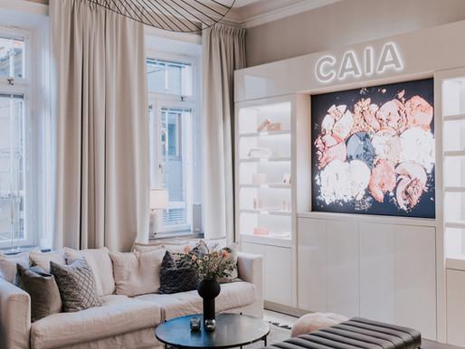 Inredningsuppdrag: Inreda Bianca Ingrossos kontor på CAIA Cosmetics