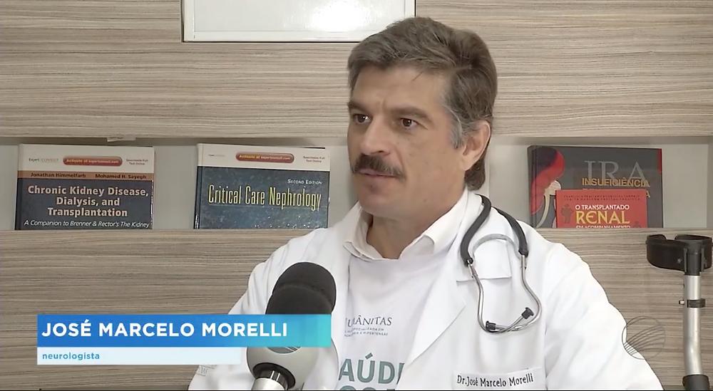 Dr. Marcelo Morelli em entrevista para TVB Record Campinas