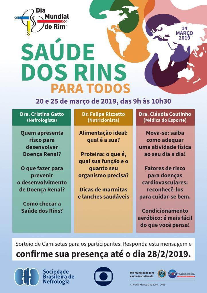 Informações da campanha em São Paulo