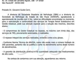 Sociedade Brasileira de Nefrologia
