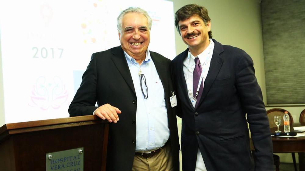 Secretário de Saúde de Campinas, Cármino de Souza, discursou sobre gestão da saúde durante o evento