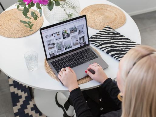 Antonia jobbar med Homestaging i Helsingfors