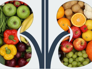 Alimentação a base de vegetais está associada a melhora das doenças renais crônicas