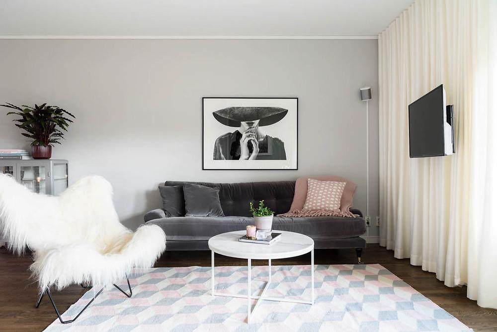 Homestyling Linnea Stark vardagsrum