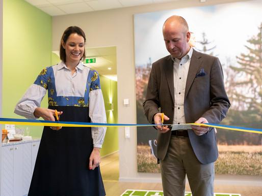 Linnéa Stark jobbar med inredning på företag