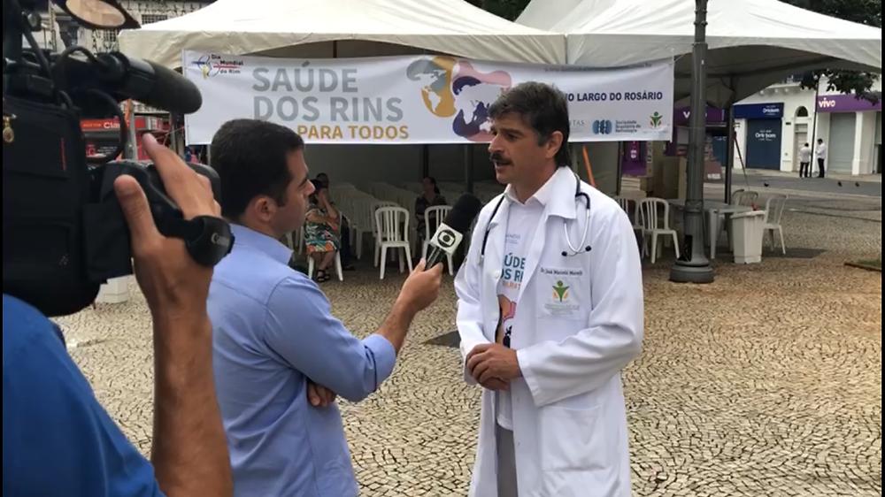 Dr. Marcelo Morelli em entrevista para o G1