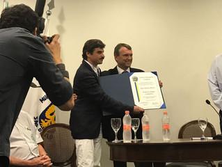 Presidente do Instituto recebe Título de Cidadão Campineiro