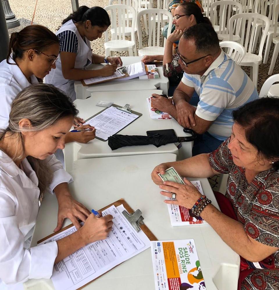 Mais de 650 exames foram feitos