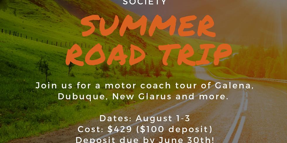 Galena Motor Coach Tour - Summer Road Trip