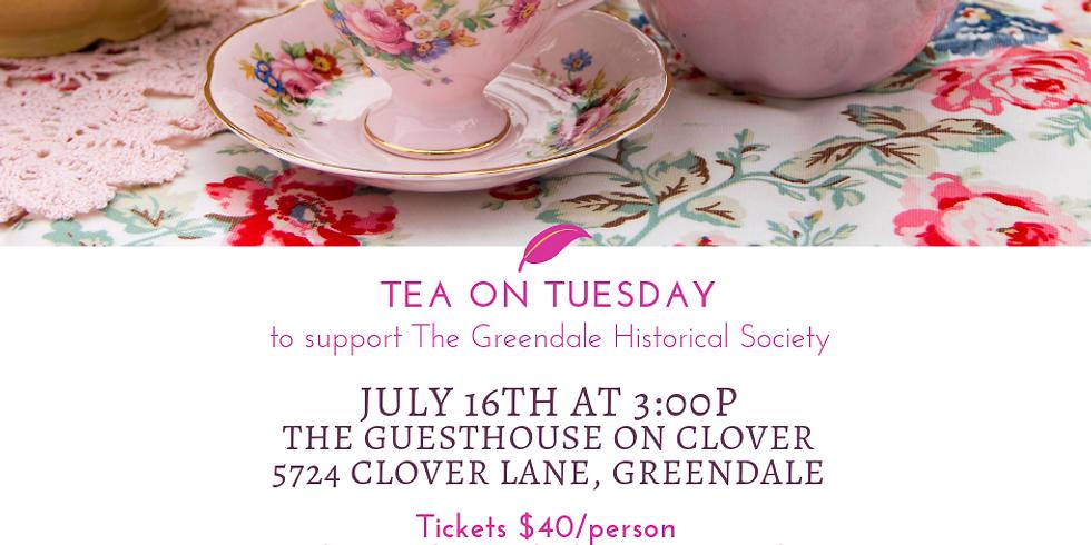 Tea on Tuesday