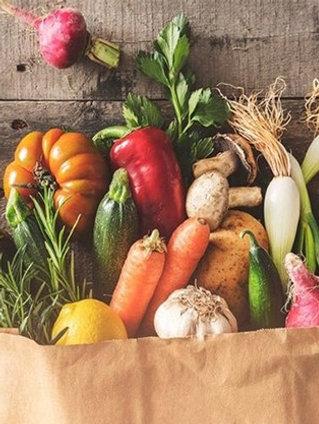 Canasta de verduras #1