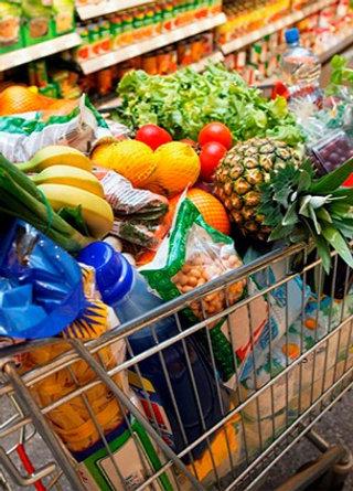 Canasta de frutas y verduras # 3