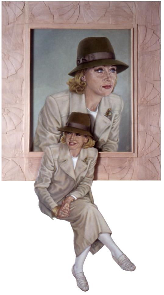madame et son portrait