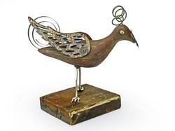 Angel Wing Bird - Ceramic/Found Objects