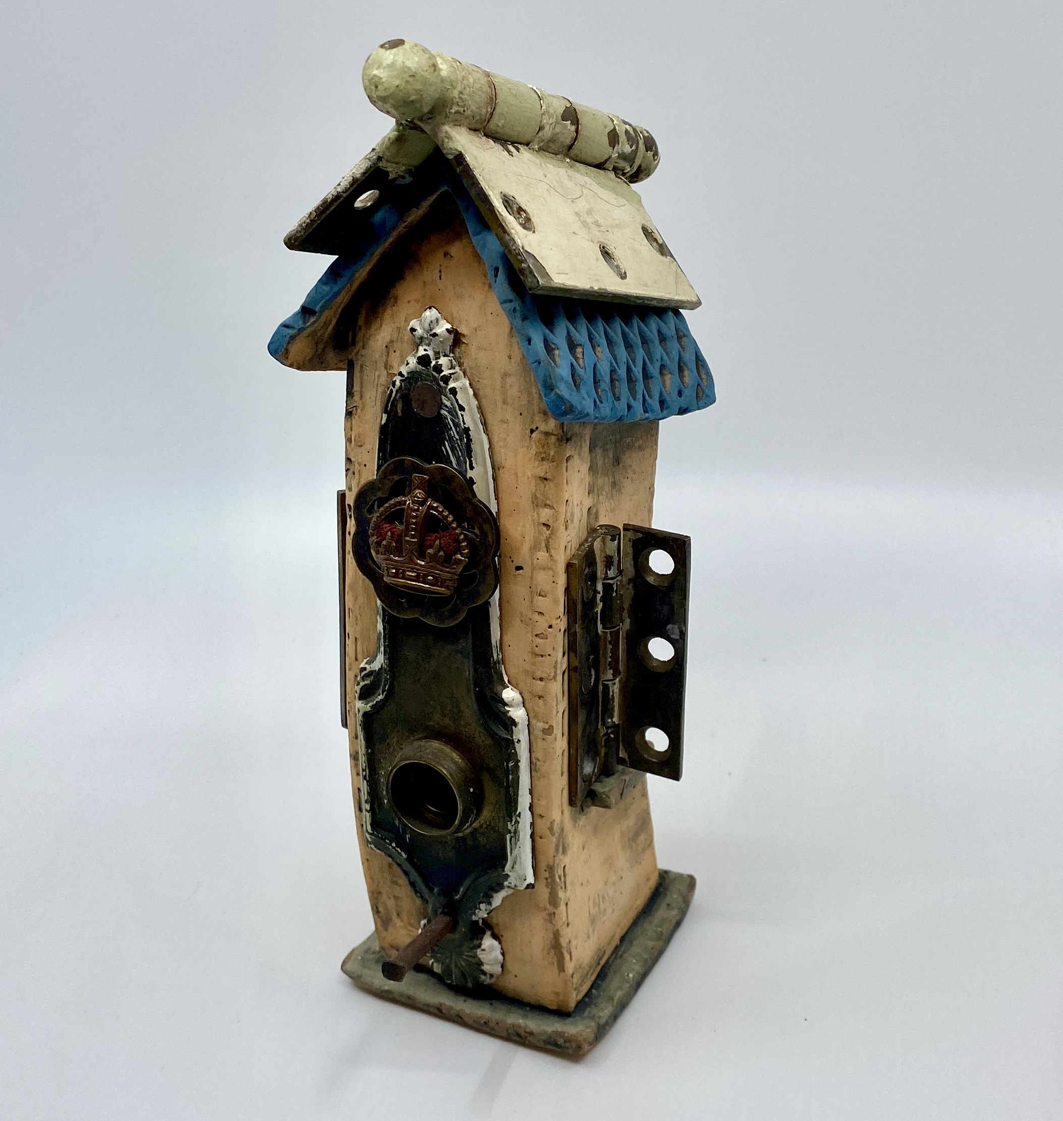 Found Object Bird House