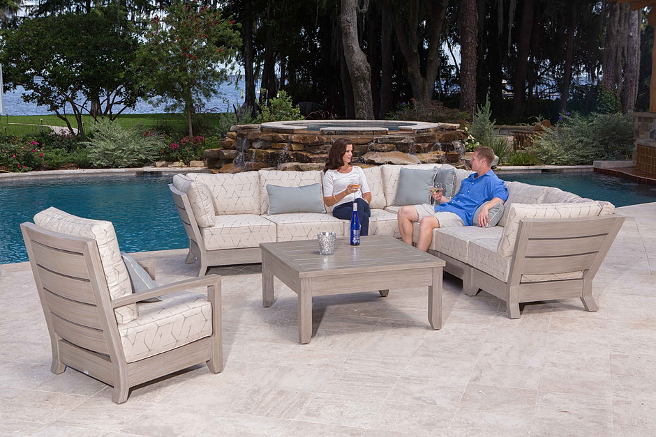 Superb Florida Backyard Outdoor Patio Furniture