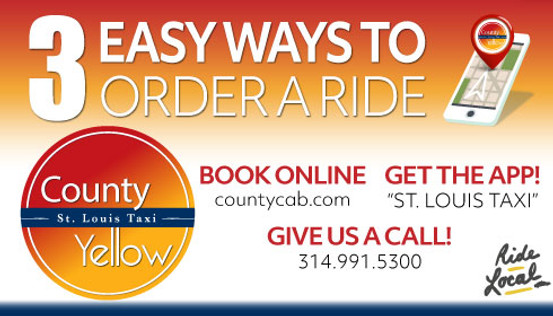 Ways to order a ride| St. Louis County Taxi & Yellow Cab