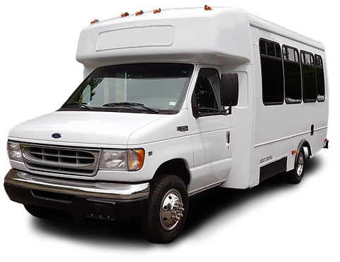 18 Passenger Party Bus with Hardwood Floors