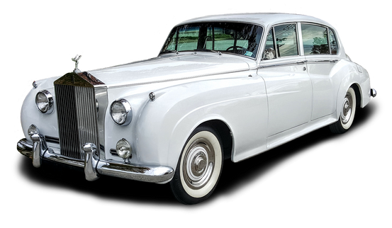 1960 Siver Cloud II Bentley-Rolls Royce, perfect for Weddings and Anniversaries