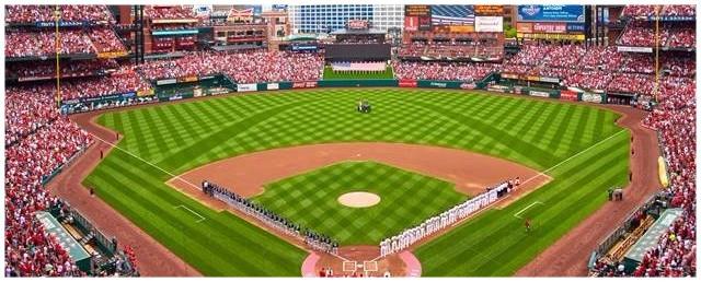 The St. Louis Cardinals at Busch Stadium