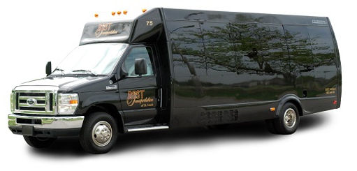 24 Passenger Mini Coach with PA System & Flat Panel Monitor