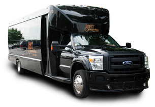 party bus: perfect for weddings