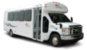 Our 24 Passenger Mini Coach with PA System.