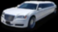 White Limo: Chrysler 300